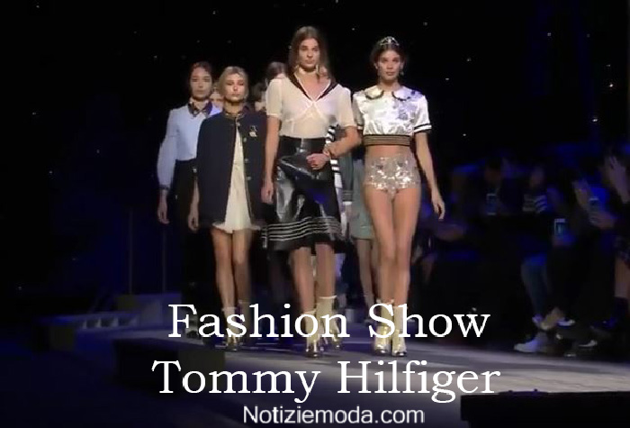 Sfilata Tommy Hilfiger autunno inverno 2016 2017 donna