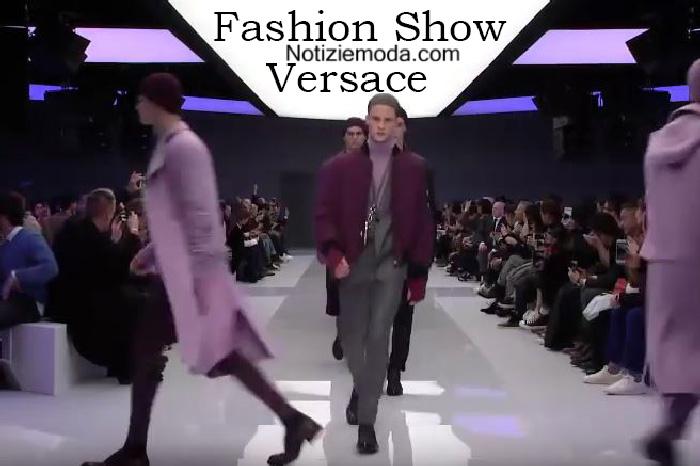 Sfilata Versace autunno inverno 2016 2017 uomo