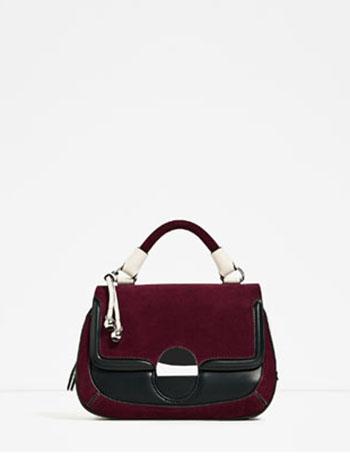 Borse Zara Autunno Inverno 2016 2017 Moda Donna 35