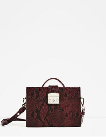 Borse Zara Autunno Inverno 2016 2017 Moda Donna 43
