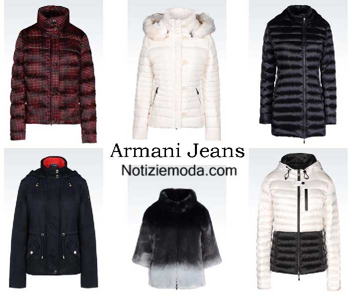 best loved 33455 0822d Giubbotti Armani Jeans autunno inverno 2016 2017 donna