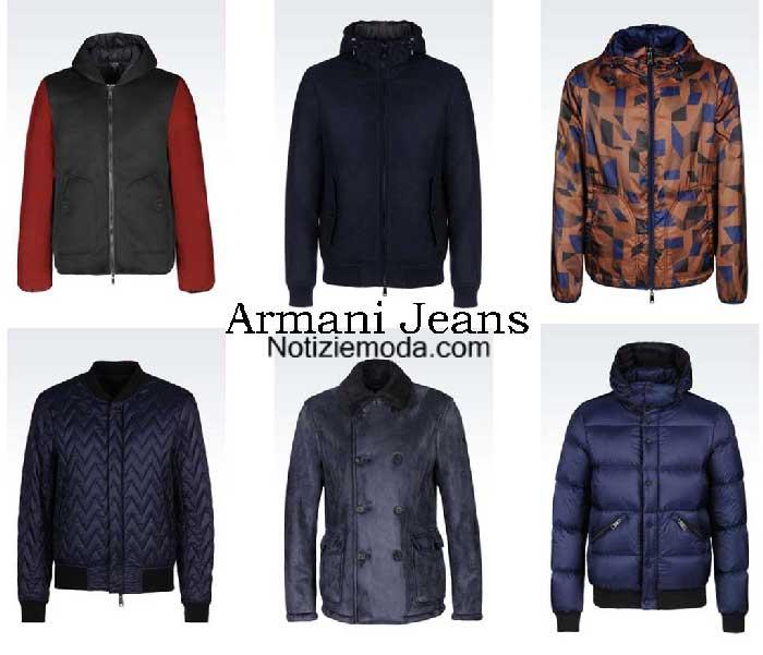 buy popular 176bb fdf08 Giubbotti Armani Jeans autunno inverno 2016 2017 uomo