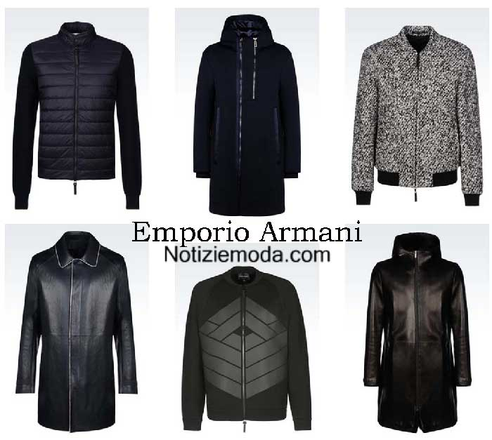 buy popular 86e00 a9056 Giubbotti Emporio Armani autunno inverno 2016 2017 uomo