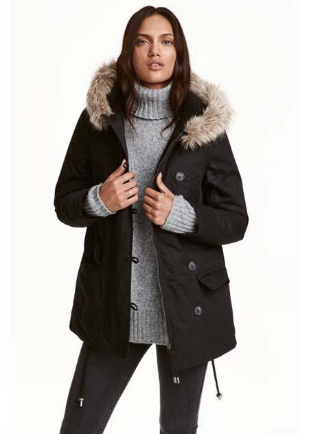 Giubbotti HM Autunno Inverno 2016 2017 Donna Look 53