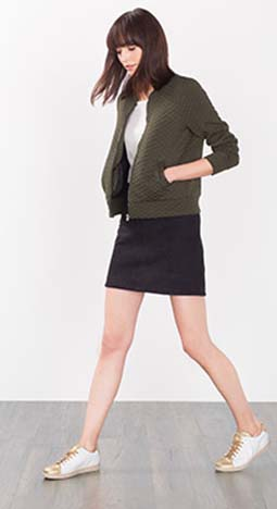 Piumini Esprit Autunno Inverno 2016 2017 Donna Look 15