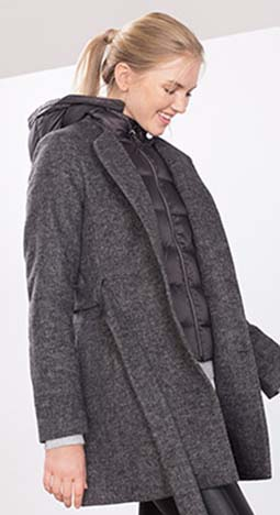 Piumini Esprit Autunno Inverno 2016 2017 Donna Look 41
