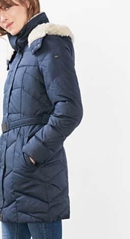Piumini Esprit Autunno Inverno 2016 2017 Donna Look 51