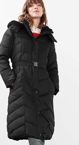 Piumini Esprit Autunno Inverno 2016 2017 Donna Look 52