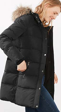 Piumini Esprit Autunno Inverno 2016 2017 Donna Look 55