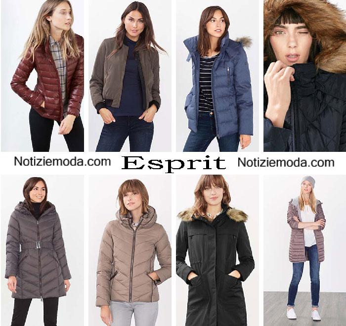 los angeles 2580e 7cfcf Piumini Esprit autunno inverno 2016 2017 moda donna