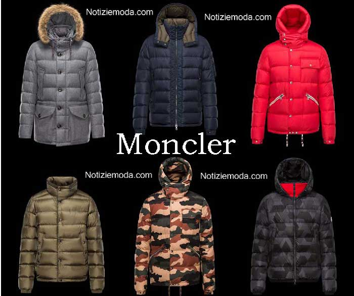 low priced 81810 cfb30 Piumini Moncler autunno inverno 2016 2017 uomo