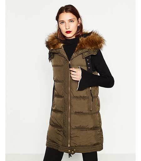 Piumini Zara Autunno Inverno 2016 2017 Donna Look 12