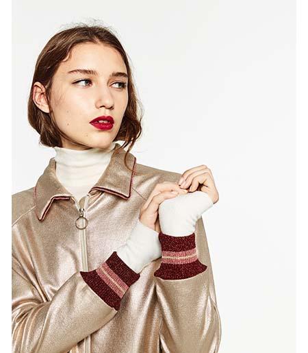 Piumini Zara Autunno Inverno 2016 2017 Donna Look 18