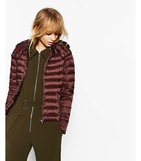 Piumini Zara Autunno Inverno 2016 2017 Donna Look 2