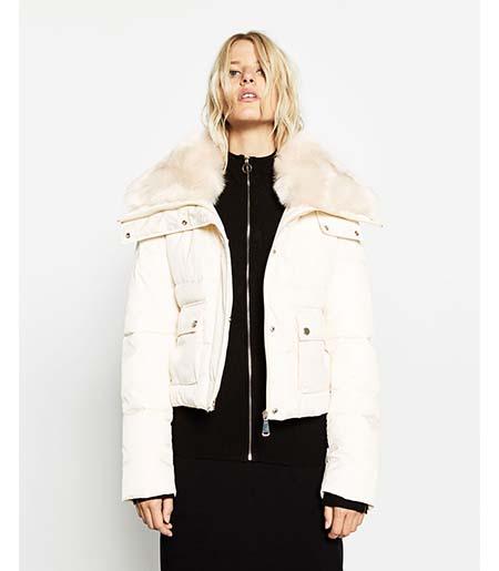 Piumini Zara Autunno Inverno 2016 2017 Donna Look 28
