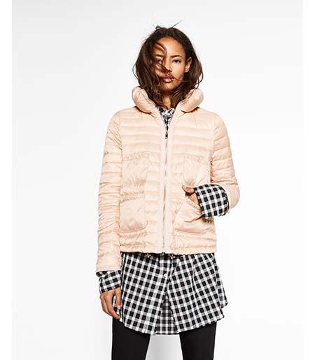 Piumini Zara Autunno Inverno 2016 2017 Donna Look 3