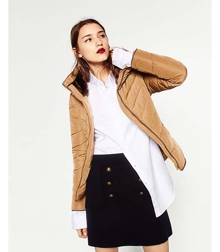 Piumini Zara Autunno Inverno 2016 2017 Donna Look 30