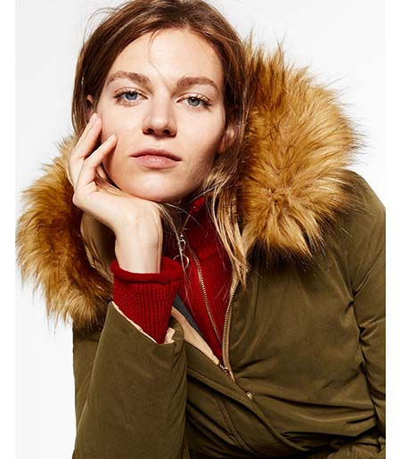 Piumini Zara Autunno Inverno 2016 2017 Donna Look 34