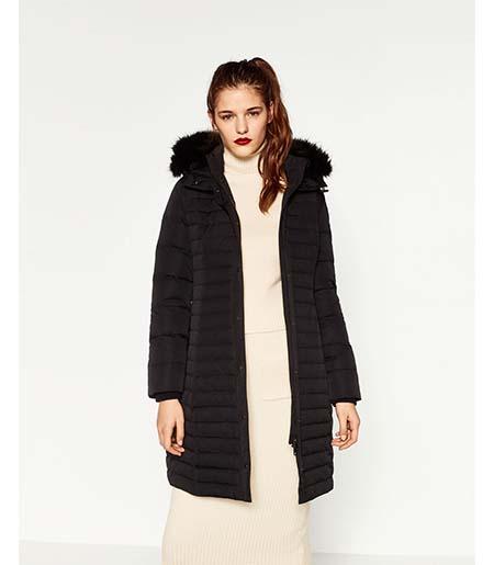 Piumini Zara Autunno Inverno 2016 2017 Donna Look 35