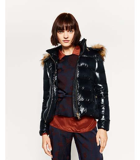 Piumini Zara Autunno Inverno 2016 2017 Donna Look 4