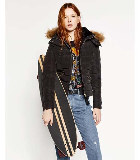 Piumini Zara Autunno Inverno 2016 2017 Donna Look 5