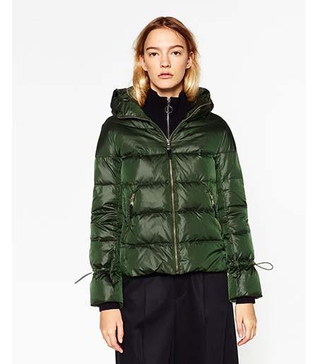Piumini Zara Autunno Inverno 2016 2017 Donna Look 9