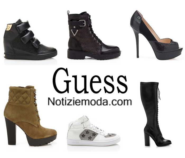 premium selection 74bd2 d563d Scarpe Guess autunno inverno 2016 2017 donna