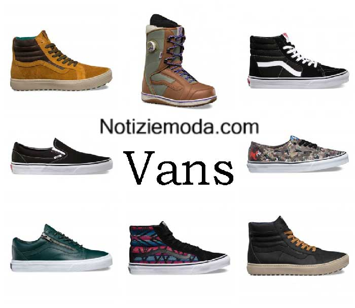 Sneakers Vans Autunno Inverno 2016 2017 Donna