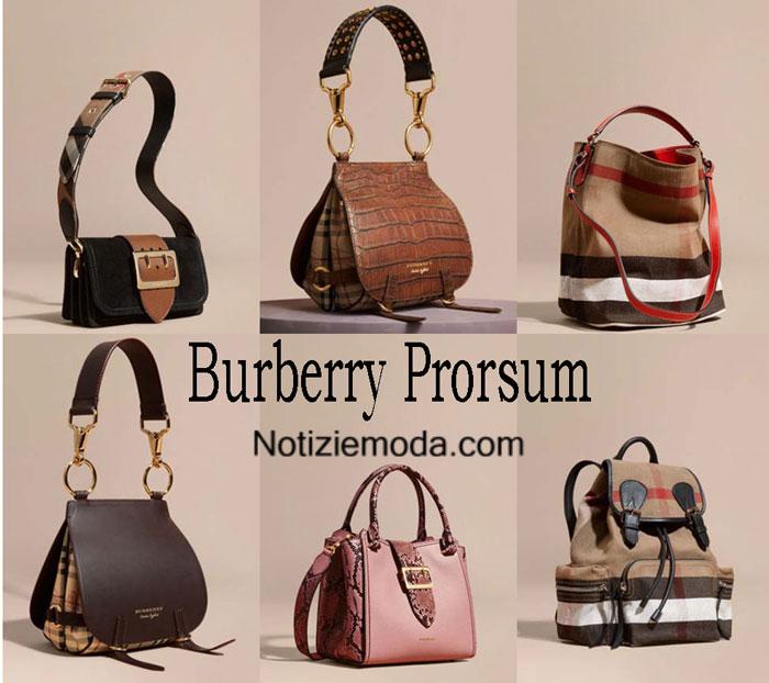 Borse Burberry Prorsum Autunno Inverno 2016 2017 Donna