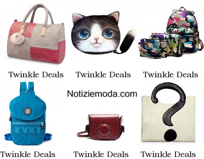 Borse Twinkle Deals Autunno Inverno 2016 2017 Donna