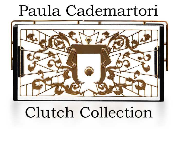 Clutch Paula Cademartori Autunno Inverno 2016 2017 2