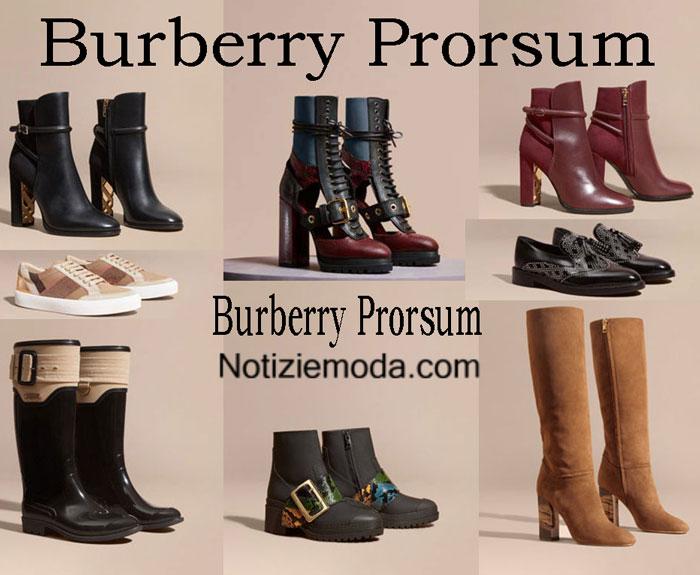 Scarpe Burberry Prorsum Autunno Inverno 2016 2017 Donna
