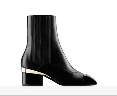 Scarpe Chanel Autunno Inverno 2016 2017 Donna Look 17