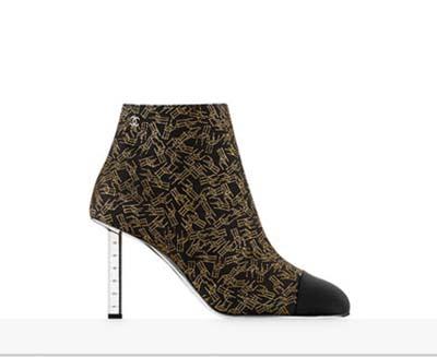 Scarpe Chanel Autunno Inverno 2016 2017 Donna Look 18
