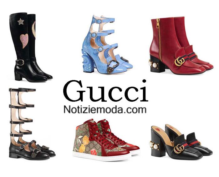 Scarpe Gucci autunno inverno 2016 2017 moda donna 818bb3e91a6