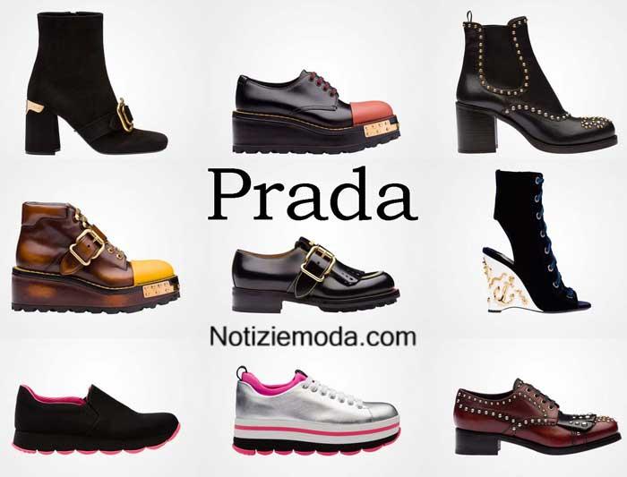 cheap for discount 2cf56 8361e Scarpe Prada autunno inverno 2016 2017 moda donna