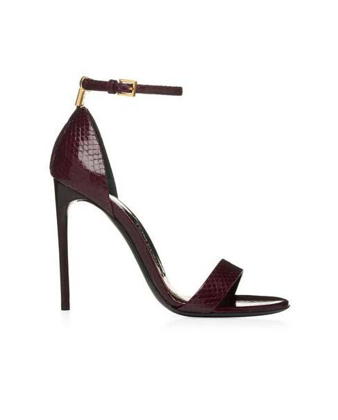 Scarpe Tom Ford Autunno Inverno 2016 2017 Donna 43