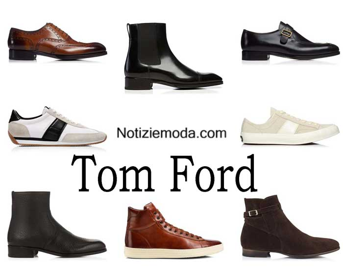 huge discount 79dae 881d3 Scarpe Tom Ford autunno inverno 2016 2017 uomo