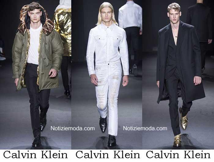 new products e75bf 7b485 Abbigliamento Calvin Klein autunno inverno 2016 2017 uomo