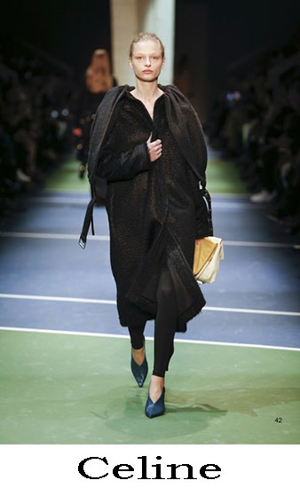 Abbigliamento Celine Autunno Inverno 2016 2017 Look 1