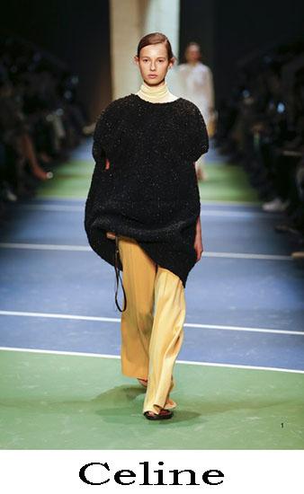 Abbigliamento Celine Autunno Inverno 2016 2017 Look 2