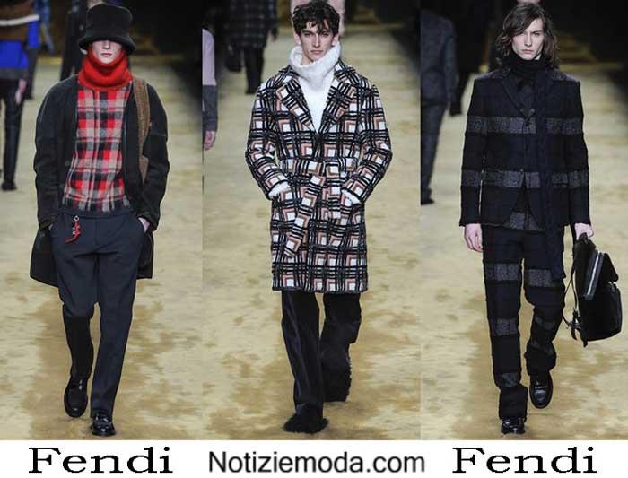 Abbigliamento Fendi Autunno Inverno 2016 2017 Uomo