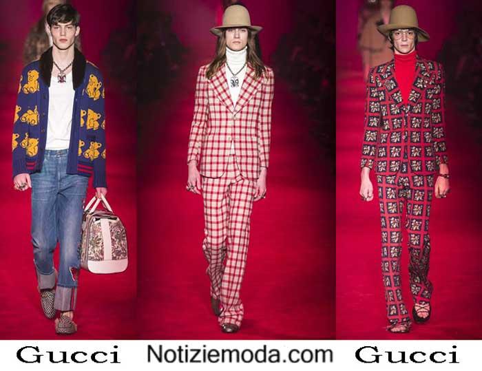 Abbigliamento Gucci Autunno Inverno 2016 2017 Uomo