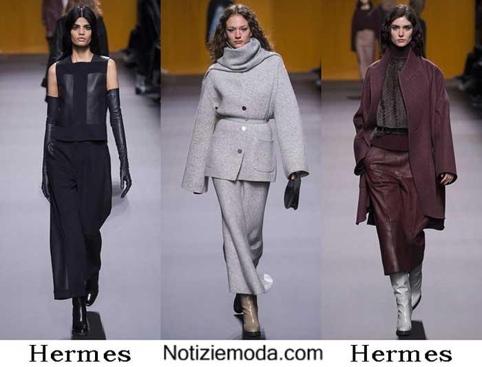 Abbigliamento Hermes Autunno Inverno 2016 2017 Donna