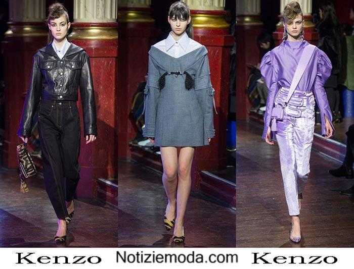 Abbigliamento Kenzo Autunno Inverno 2016 2017 Donna