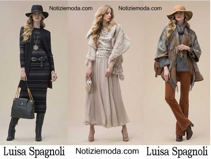 Abbigliamento Luisa Spagnoli Autunno Inverno 2016 2017