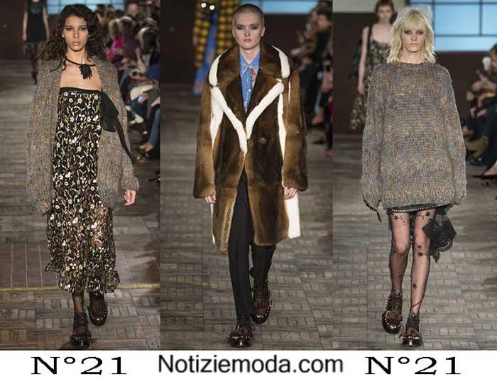 Abbigliamento N°21 Autunno Inverno 2016 2017 Donna