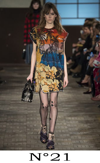 Abbigliamento N°21 Autunno Inverno 2016 2017 Look 24