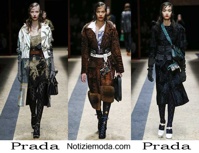 Abbigliamento Prada Autunno Inverno 2016 2017 Donna