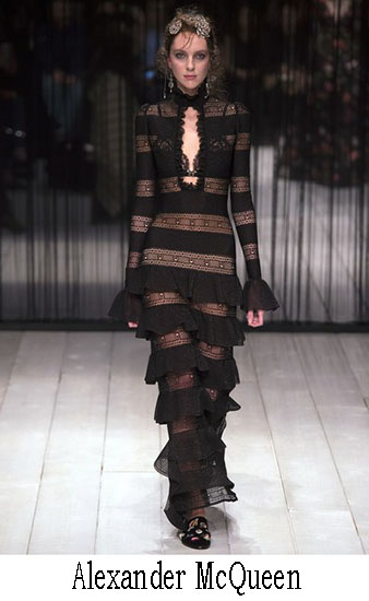 Alexander McQueen Autunno Inverno 2016 2017 Look 20